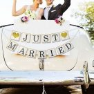 Tips to decorate the wedding car