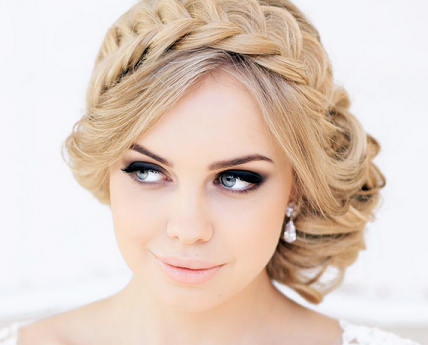 Wedding Hairstyles Round Face